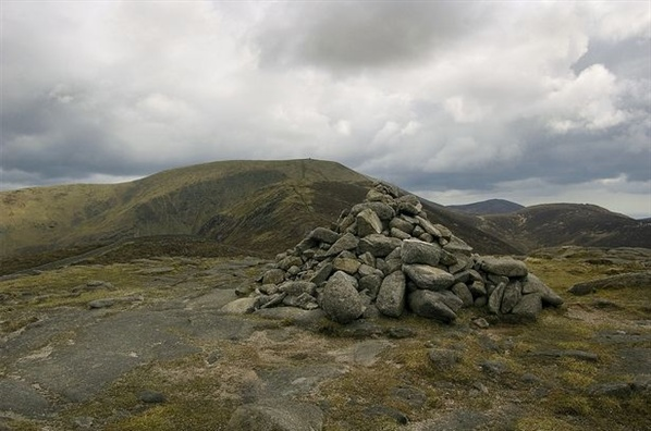 Looking from Slievenaglogh Cairn towards Commedagh
