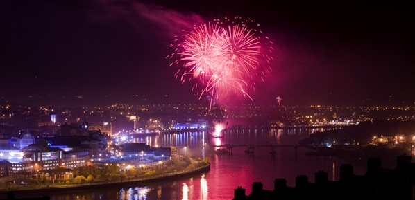 Derry~Londonderry Fireworks