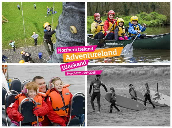 Northern Ireland Adventureland Weekend 2015