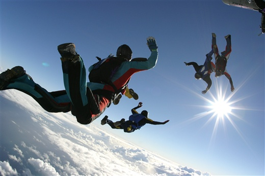 Sky Diving 