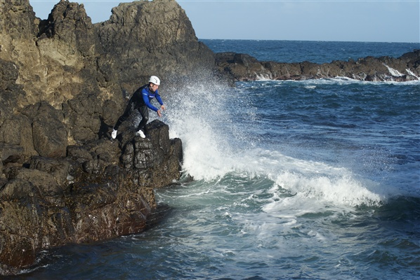 coasteering
