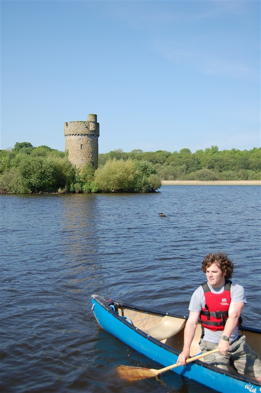Canoeing on Upper Lough Erne