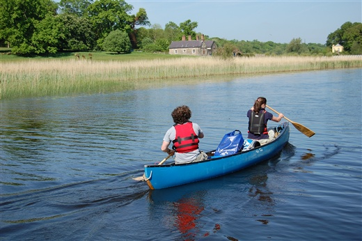 Canoeing on Lough Erne Canoe Trail