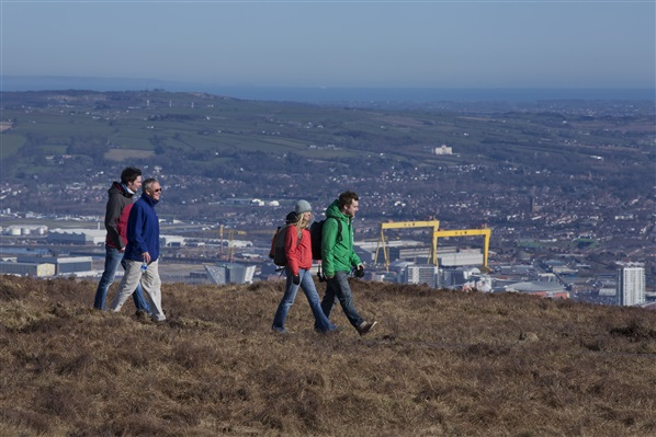 Divis Ridge Trail