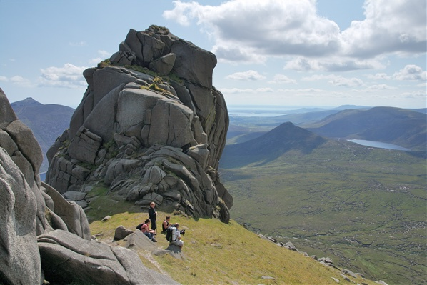 Slieve Bearnagh, The Mourne Mountains