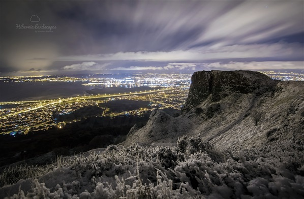 Cave Hill snow