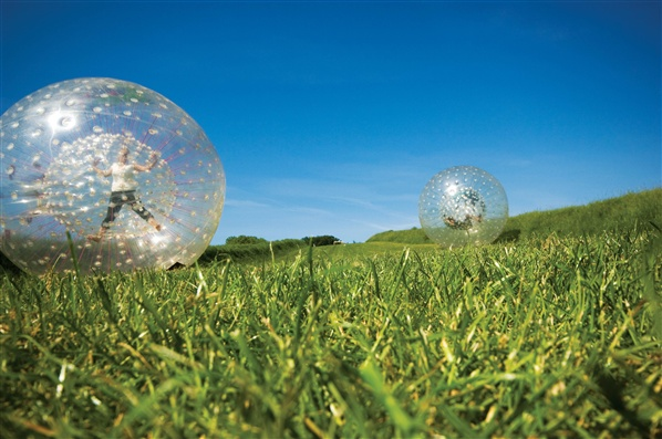 zorbing northern ireland