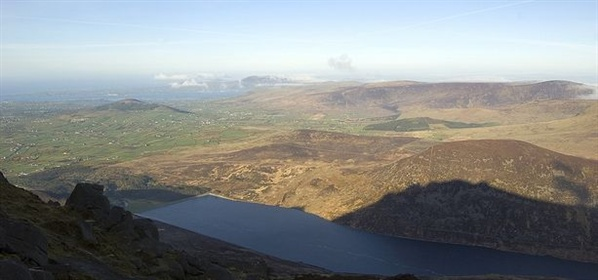 View from Slieve Binnian